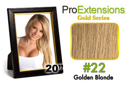 #22 Medium Golden Blonde Pro Cute