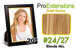 #24/27 Light Blonde w/Dark Blonde Highlights Pro Cute