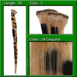 Blonde Leopard Highlight Streak Pack