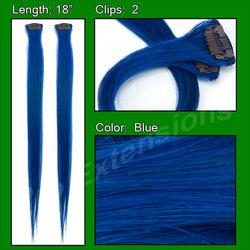 (2 PCS) Blue Highlight Streak Pack