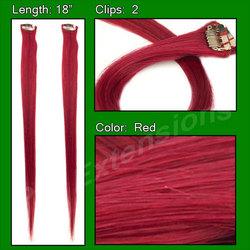 (2 PCS) Red Highlight Streak Pack
