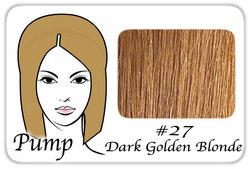 #27 Dark Golden Blonde Pro Pump - Tease With Ease