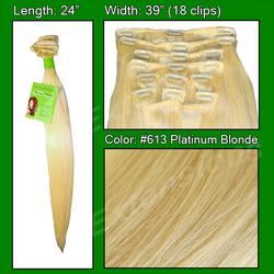 #613 Platinum - 24 inch Remy