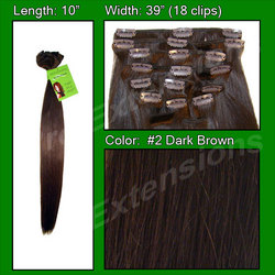 #2 Dark Brown - 10 inch