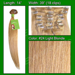 #24 Light Blonde - 14 inch