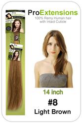 #8 Light Brown - 14 inch