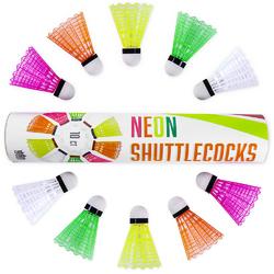 Neon Plastic Shuttlecocks