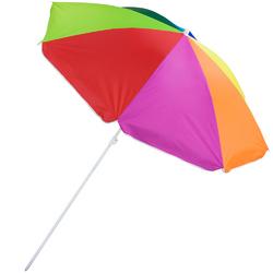 Rainbow Beach Umbrella, 8-foot
