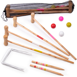 Kids Croquet Set for 4-Players
