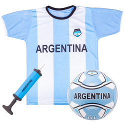 Argentina Kids Soccer Kit - Large