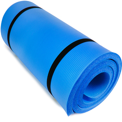 "Ultra Thick 1"" Yoga Cloud, Blue"