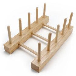 Professor Poplar's Wooden Puzzle Display Stand