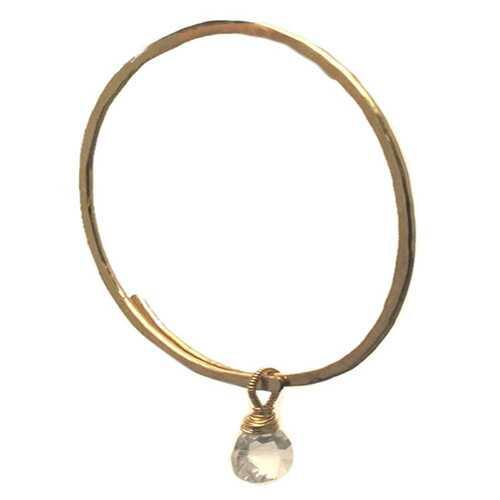 Bracelet 27 - choice of stone - Gold