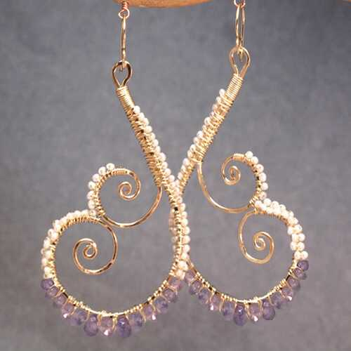 Luxe Bijoux 199 - choice of stone - Gold