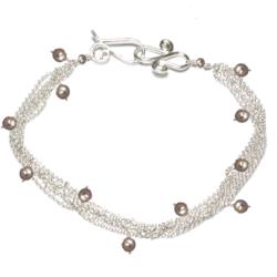 Bracelet 02 - choice of stone - Gold