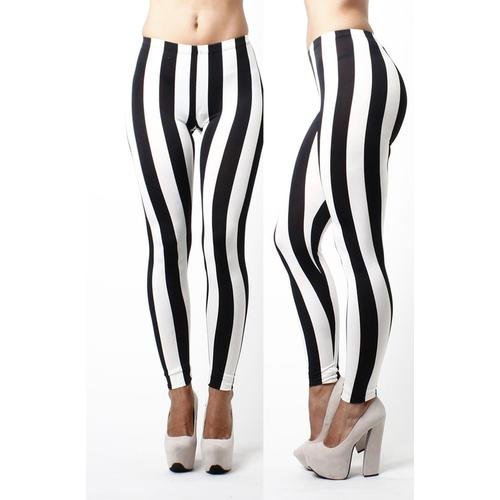 Stripe Woman Legging