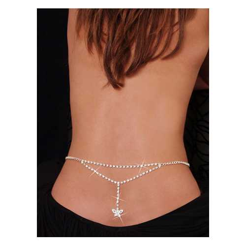 Sexy Tiny Butterfly Rhinestone Belly Chain