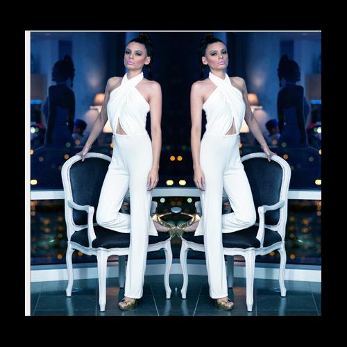 White fashion Women Jumpsuits