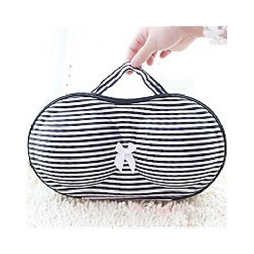 Convenient Bra Storage Bag Stripe