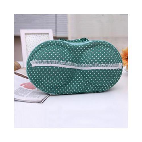 Convenient Bra Storage Bag Green