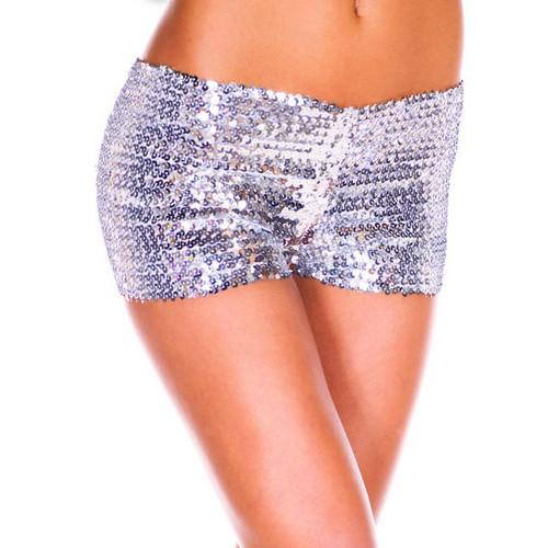 Slivery Sequin short