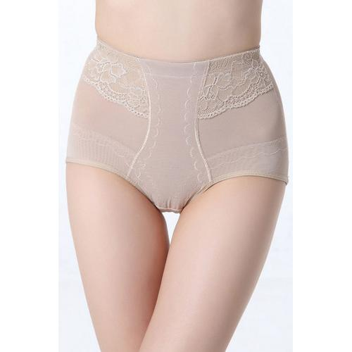 Sexy High Waisted Slimming And Firming Girdle Nude