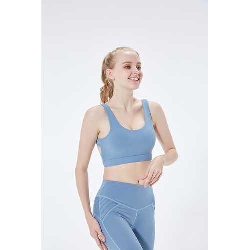 Sports Bra Gathered Running Fitness Beauty Back Underwear Vest Style Yoga Large Size Women Bra