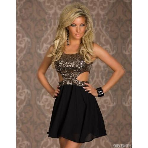 Sequin sexy lady fashion club dress