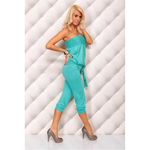 Classy Sleeveless Jumpsuits Blue