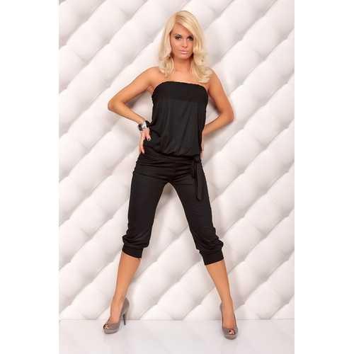 Classy Sleeveless Jumpsuits Black