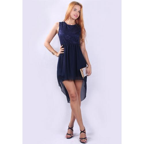 New Arrival Fashion Floral Lace Backless Skater Dress