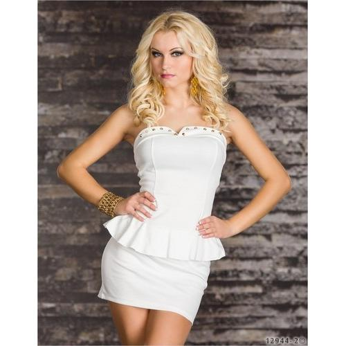 White Sexy Dress Clubwear