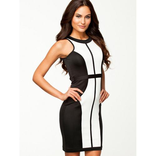 Vogue Classic Block Slim Bodycon Dress