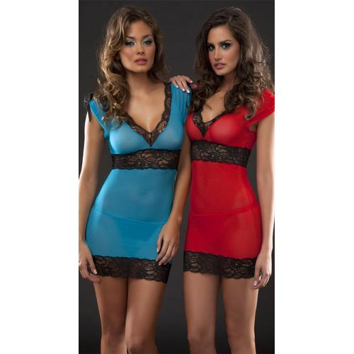 Ladies Sexy Midnight Babydoll