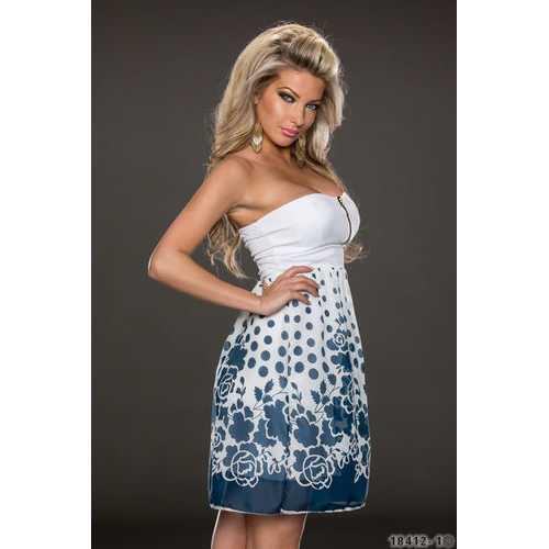 Printed charming sexy women dress