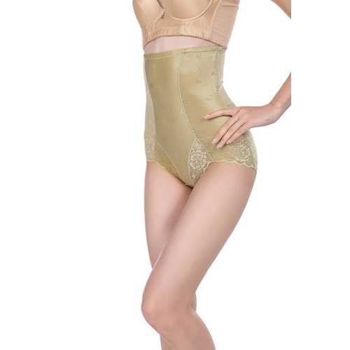 High Waist Postpartum Lifter Waistline Shapewear Green