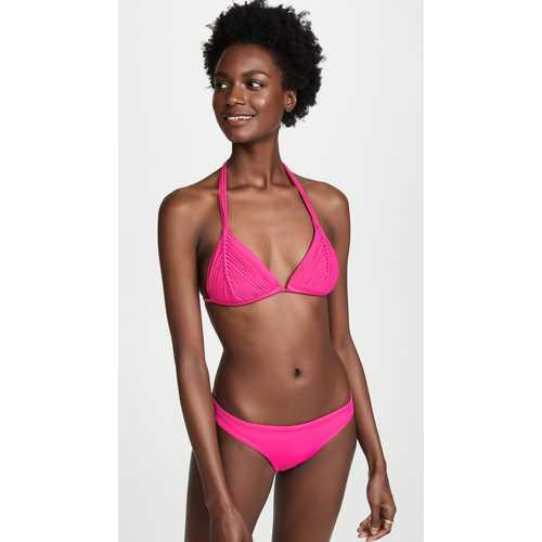 2019 New Arrival 2pcs Solid sexy Bikini Set Pink