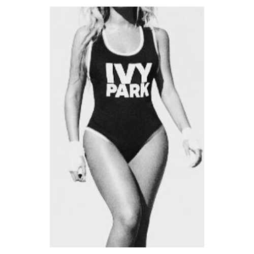 Fashion One Piece Letter Printed Bikini IVY PARK
