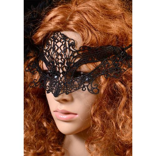 Cheap Fashion Masquerade Party Night Club Lace Mask Black
