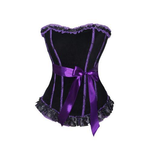 Purple Sexy Corset