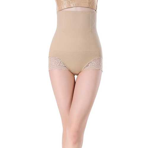 Apricot SexyWomen Seamless High Waist FlashLift Postpartum Shapewear
