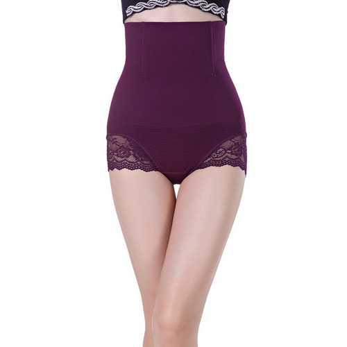 Purple SexyWomen Seamless High Waist FlashLift Postpartum Shapewear