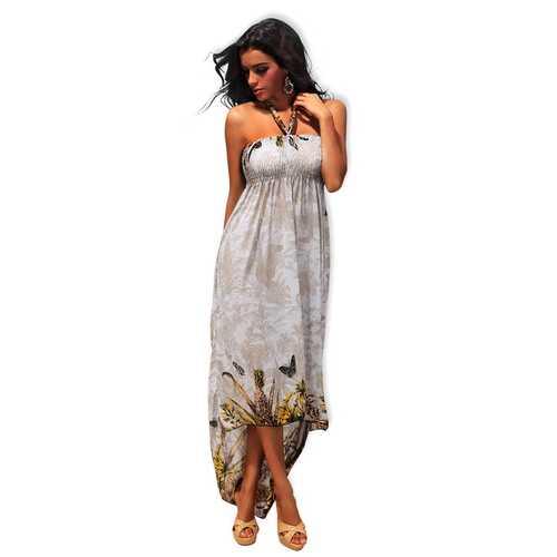 Like An Angel Special Design Long Dress White