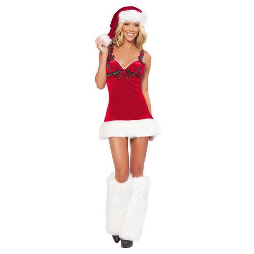 Flirty Santa Christmas Costume
