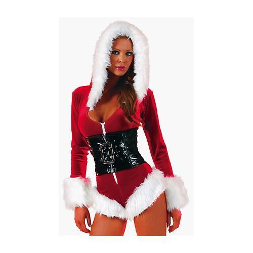 Holiday Romper Lingerie Costume