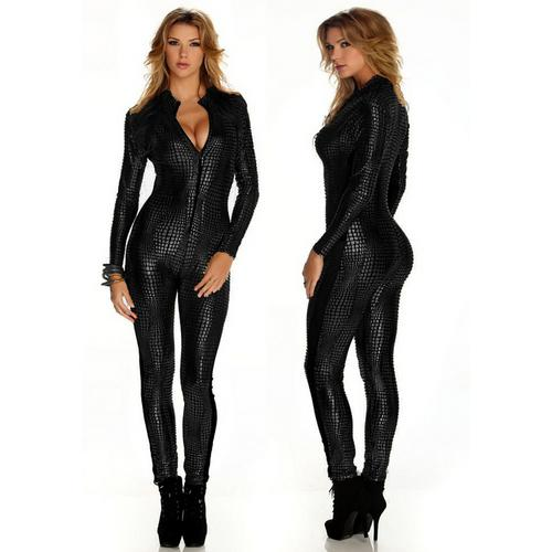 hot sale leather dress