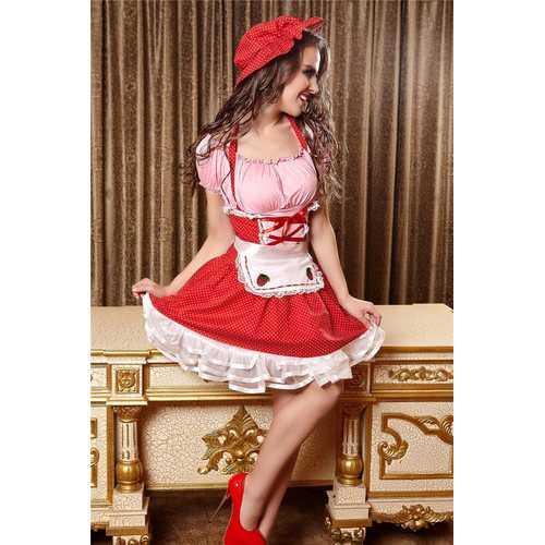 Halloween Cosplay Fairytale Maid Costume