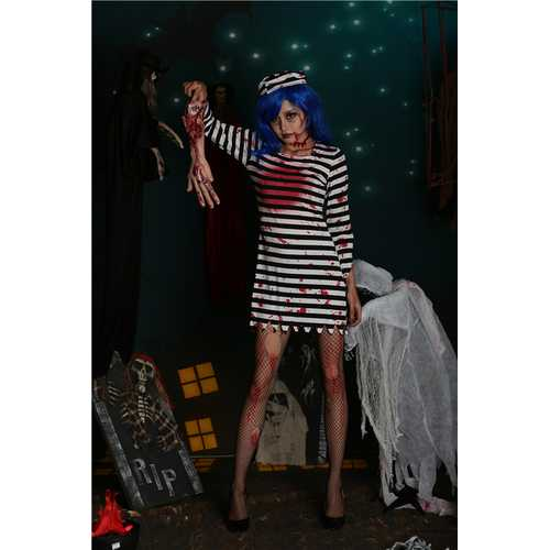 Devil stripes vampire Halloween costumes