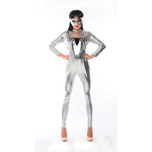 2017 New Arrival Sexy Spider Man Jumpsuit Cosplay for Halloween Costume
