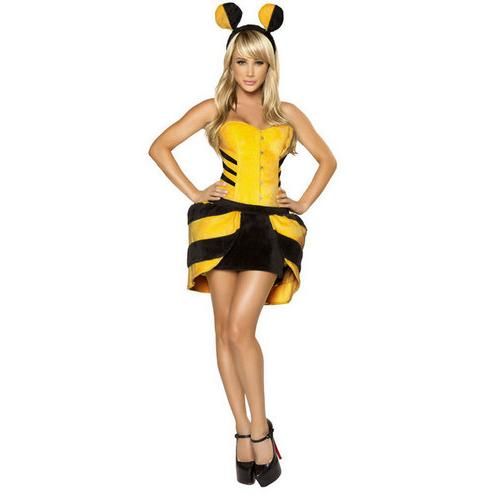 Flirty Bumble Bee Costume